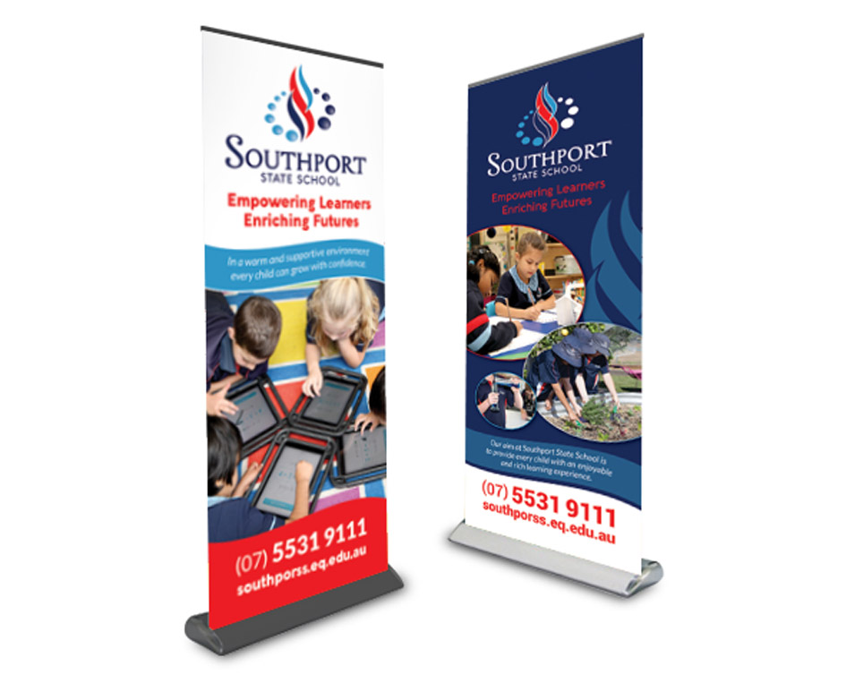 Southport-State-School-Pullup-Banners