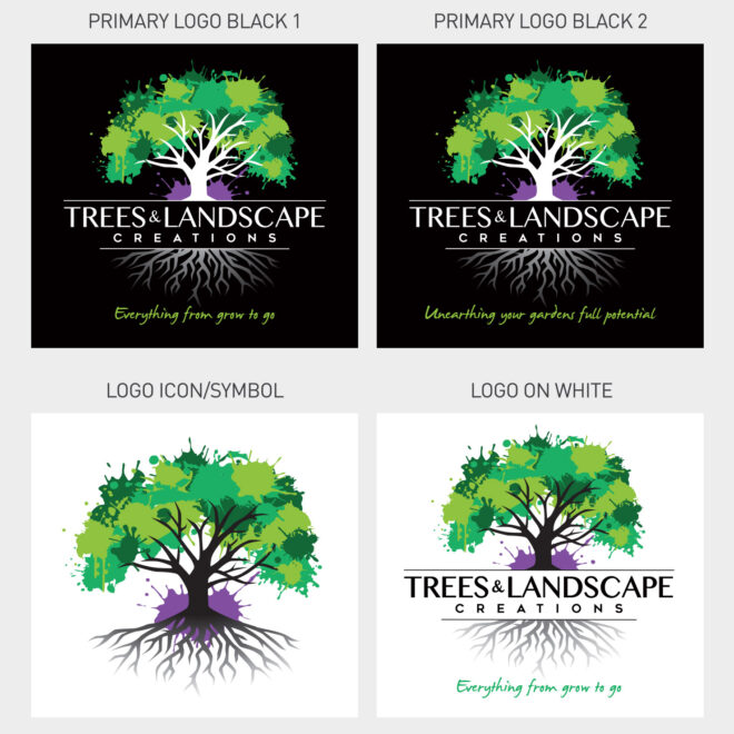 Trees-&-Landscape-Creations-Logo-Variations